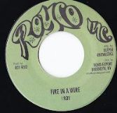 I Roy - Fire In A Wire / Warlord Of Zenda Version (Royco / DKR) US 7""